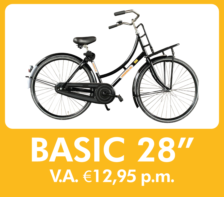 fiets leasen - basic 28 inch